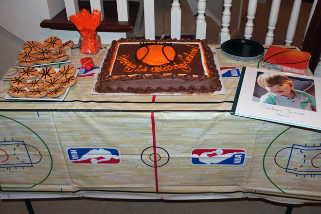 Basketball Themed 2nd Birthday Party The Next Big Adventure