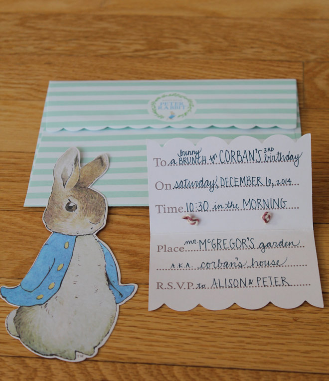 A \'Peter Rabbit\' themed 3rd birthday party – The Next Big Adventure