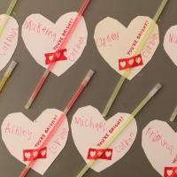 This year's handmade valentines